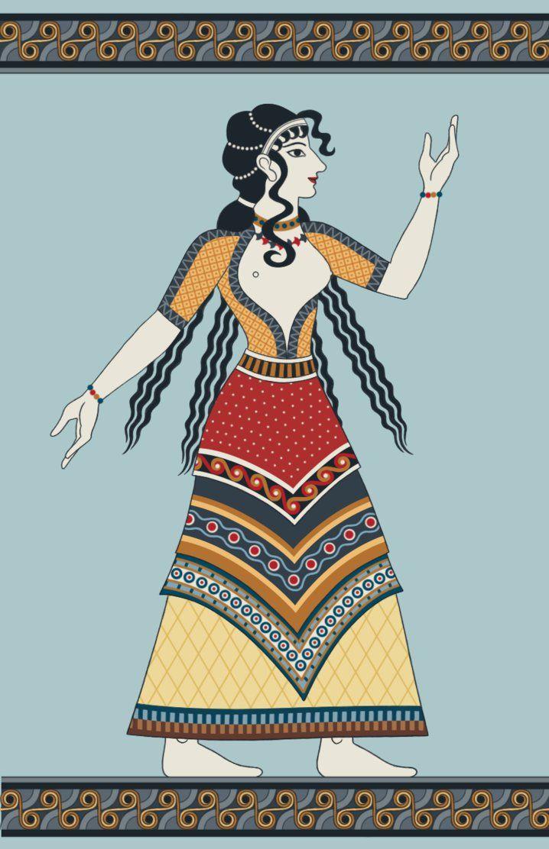 44++ Minoan woman info