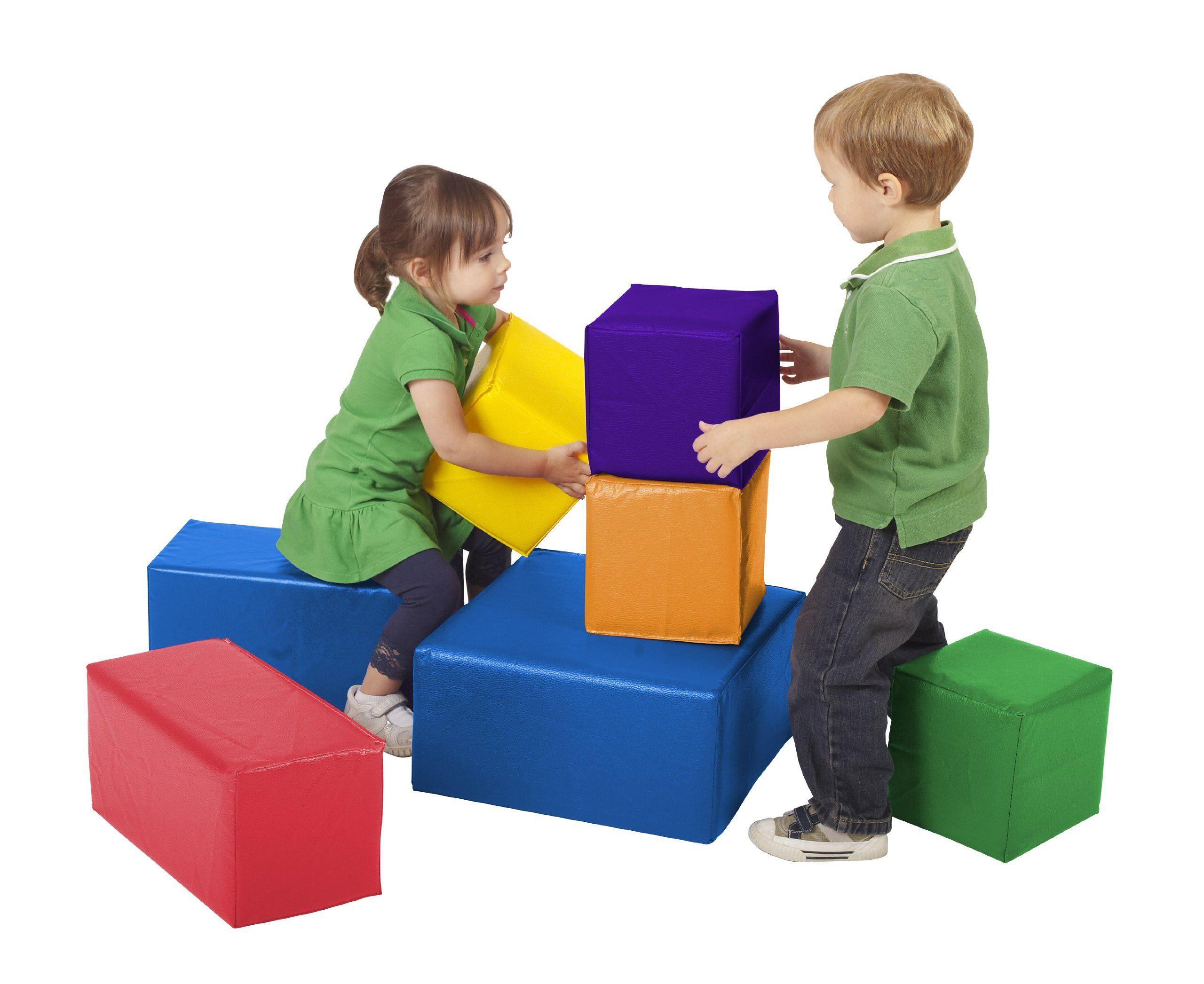 Lila sidney ecr4kids softzone foam big blocks 7