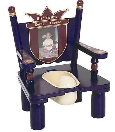 @rosenberryrooms is offering $20 OFF your purchase! Share the news and save!  His Majesty's Throne Potty Chair #rosenberryrooms