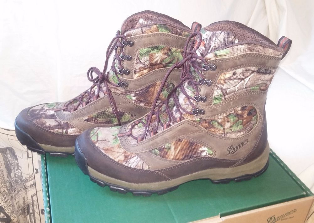 DANNER Boots Camo High Ground Mossy Oak Camouflage Hunting