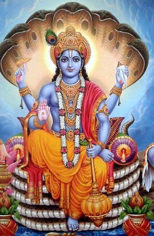 103 Best shree bishnu images in 2020 | Indian gods, Hindu gods ...