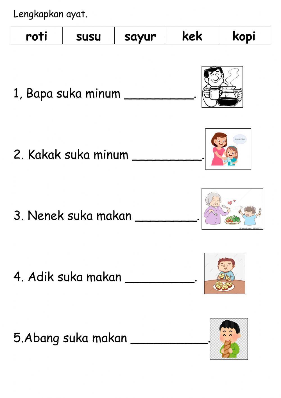 Perkataan Interactive Activity For Grade3 You Can Do The Exercises Online Or Download The Worksheet In 2021 Phonics Free Kindergarden Activities Preschool Worksheets