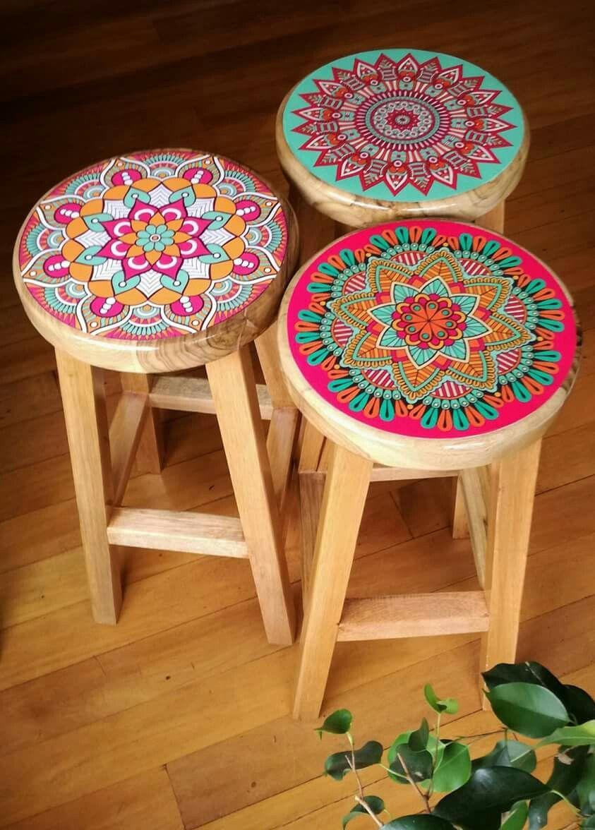 Mandala Bar Stools Yoga Time Pinterest Bar stool  : a37cd2edf28cae69783f7f40cfd9755e from www.pinterest.com size 843 x 1176 jpeg 128kB