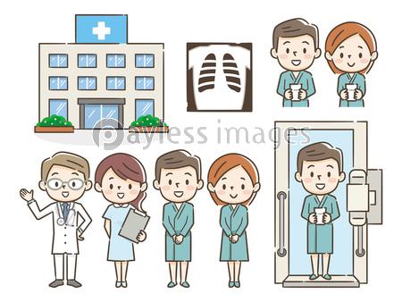 人間ドック 健康診断 セットの写真 イラスト素材 Xf3265323437 ペイレスイメージズ 医療イラスト 人間ドック イラスト