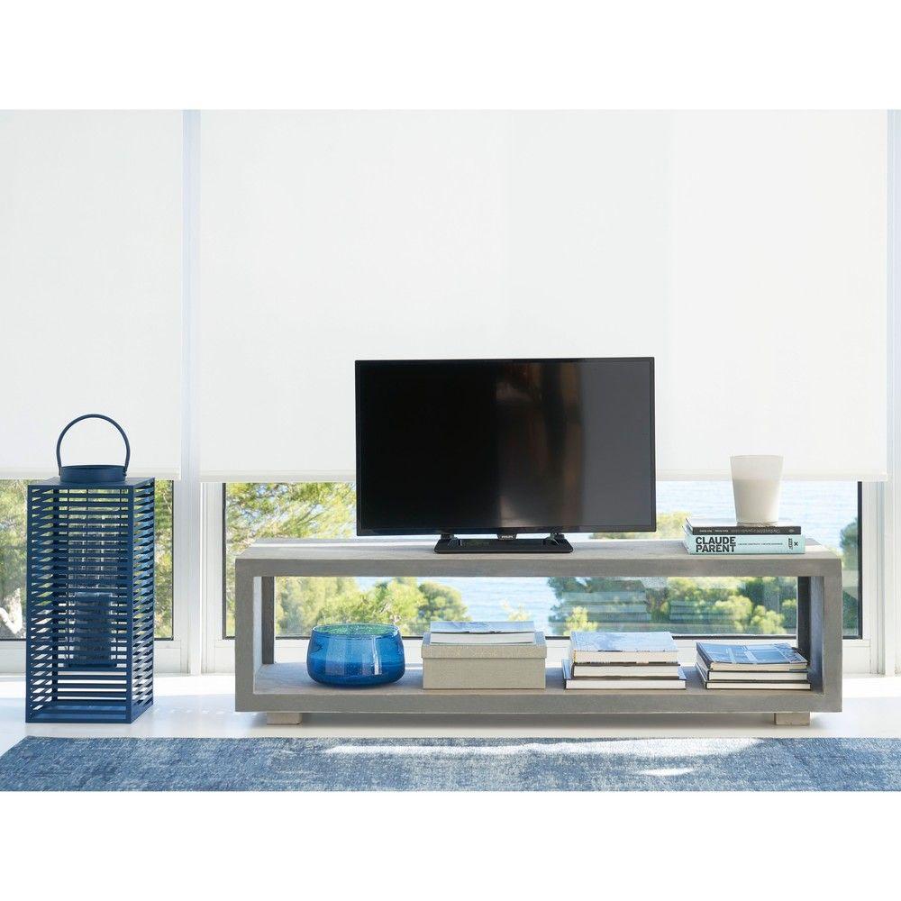 tv m bel in betonoptik maisons du monde abode meuble. Black Bedroom Furniture Sets. Home Design Ideas
