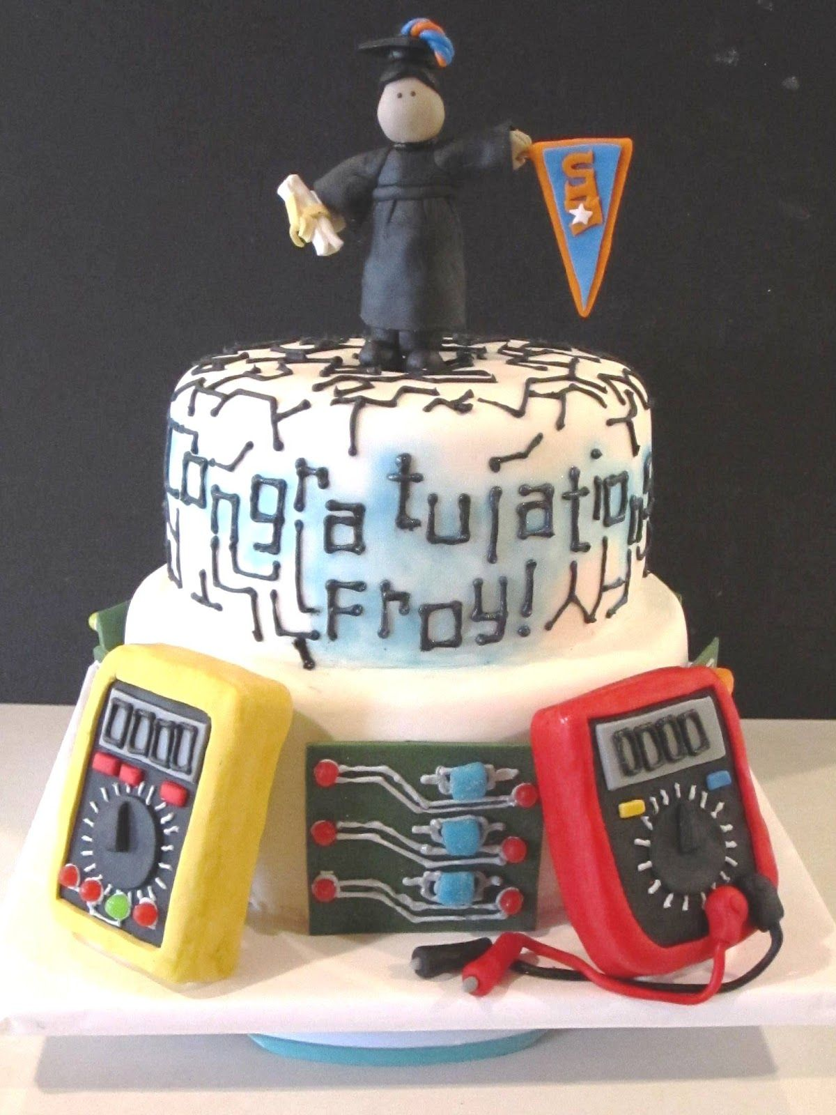 Electrical Engineer Cake Design : electrical engineering birthday party ideas - Google ...