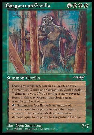 Gargantuan Gorilla (Gargantua-Gorilla)