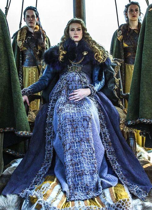 Alyssa Sutherland As Princess Aslaug In Vikings Fairytales