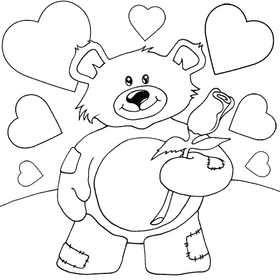 valentines day teddy wallpaper