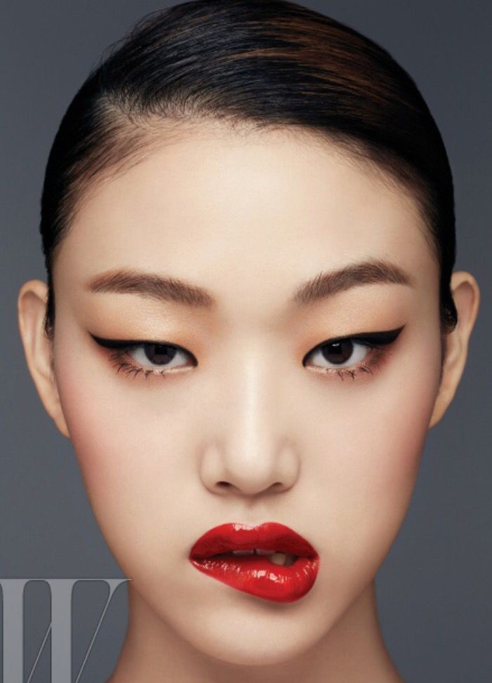Oriental Eye Makeup アジアンアイメイク アジア女性のアイメイク