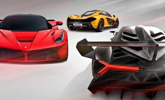 Hyping Hypercars Ferrari LaFerrari Vs McLaren P - Sports cars comparison