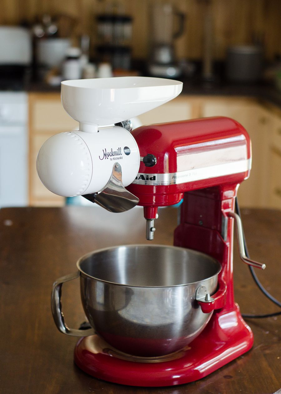Mockmill Grain Mill Review + Giveaway | Favorite PHG Products ... on magic mill grain mill, hobart grain mill, vitamix grain mill, cuisinart food mill, bosch grain mill, family grain mill, food grinder grain mill, country grain mill, motorized grain mill, blendtec grain mill, chinese grain mill,
