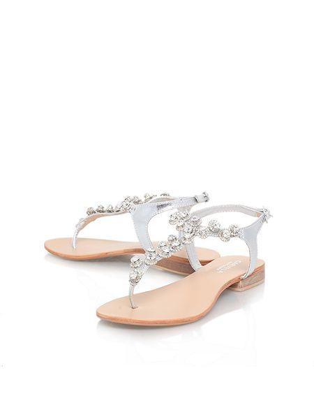 da1b422eb9e Bebe flat sandals