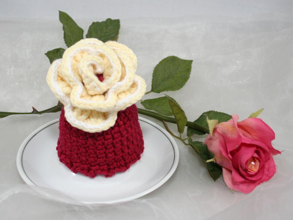 Rose – Eierwärmer / Rose – Egg Cozy