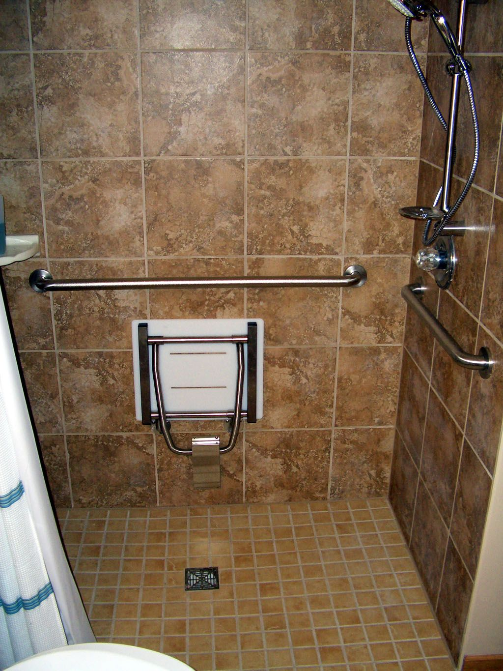 Disability remodeling wheel chair handicap access minneapolis wheel chair ramp - Handicap accessible bathroom design ideas ...
