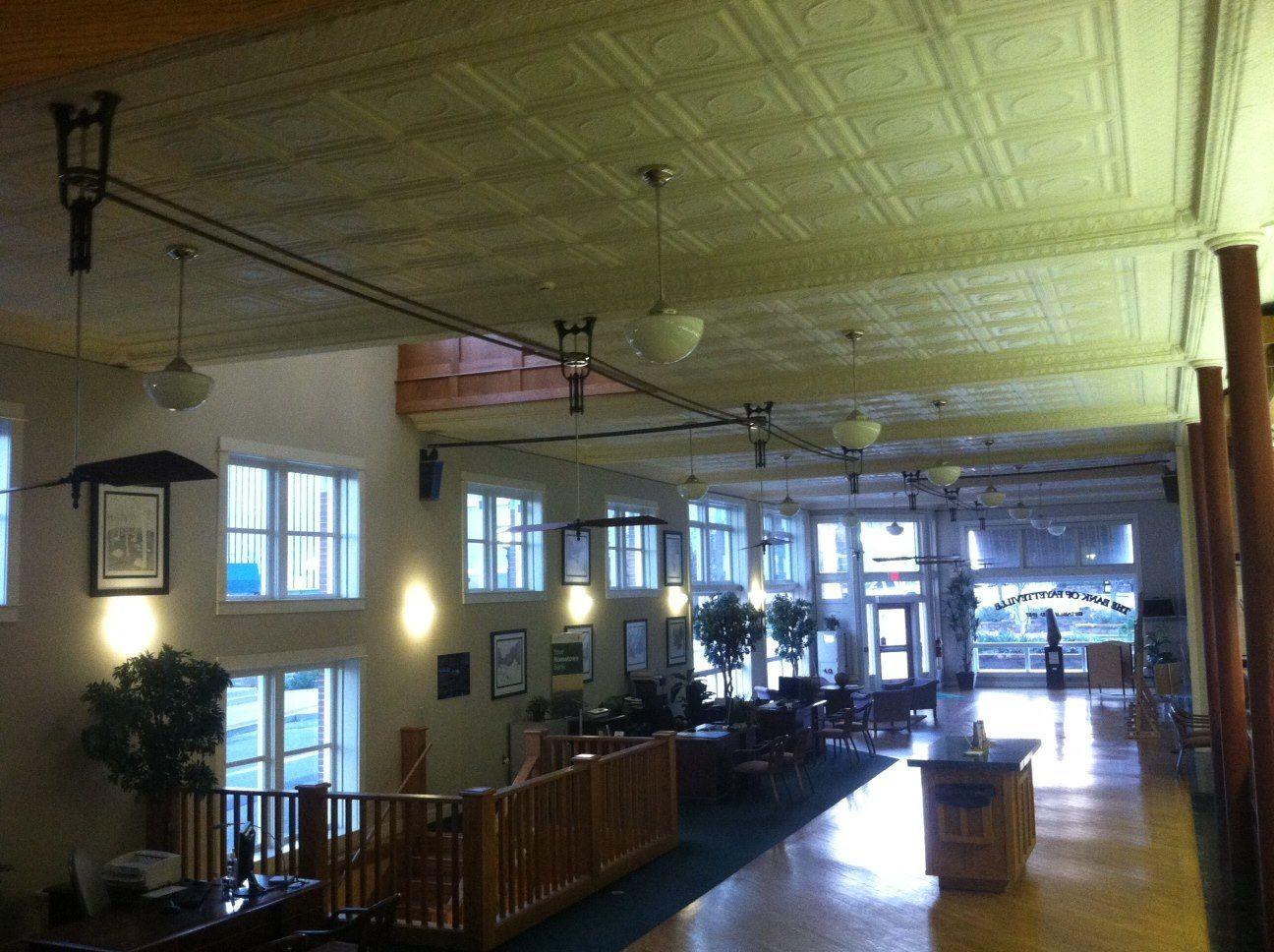 Fayettville Bank Arkansas Large Ostrich Belt And Pulley Fan System Woolen Mill Company Llc