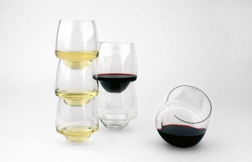 Saturn Wine Glasses from SUPERDUPERSTUDIO