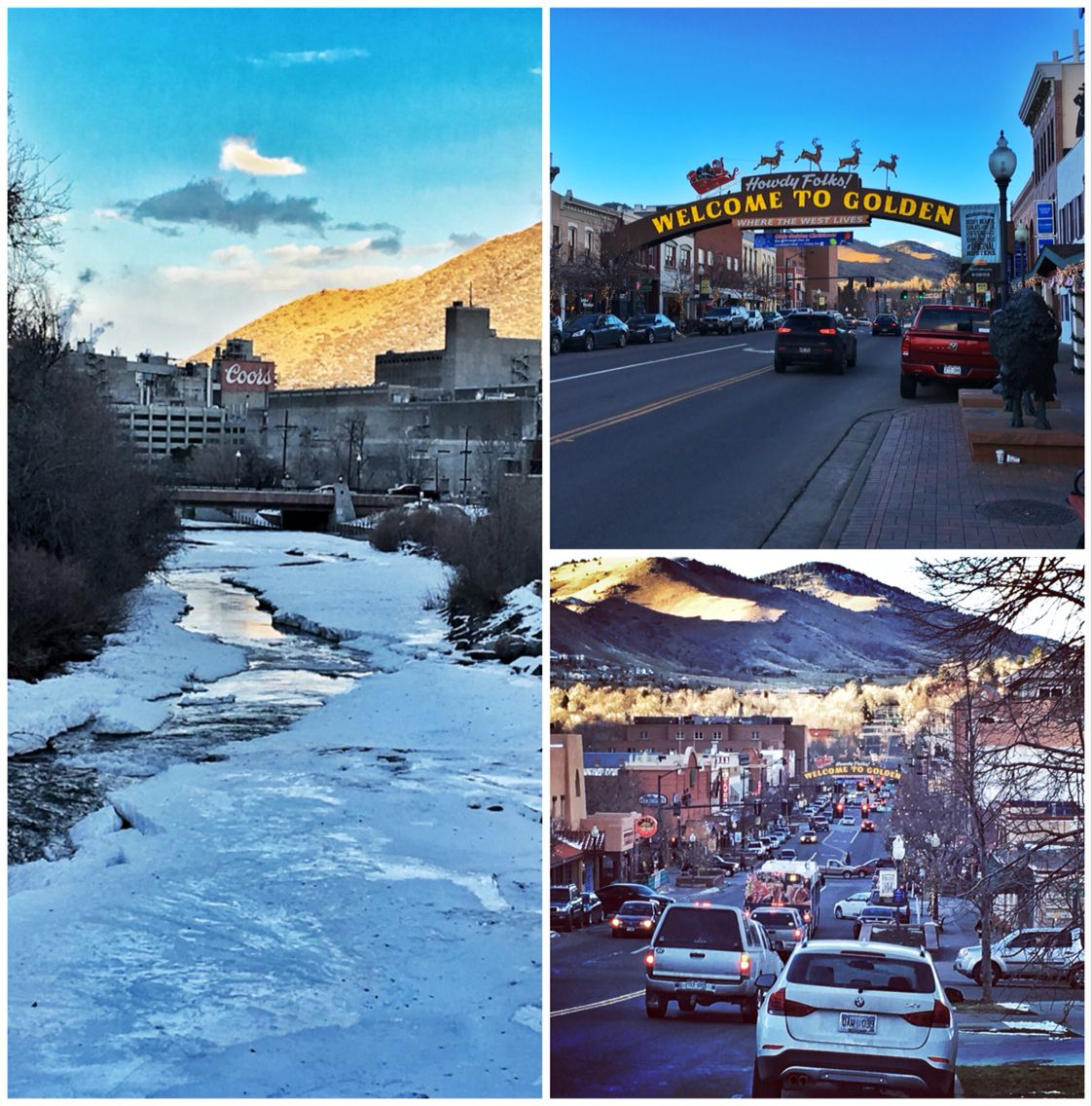 Christmas Time in Golden Colorado, Home of The Coors Brewery. Makes ...