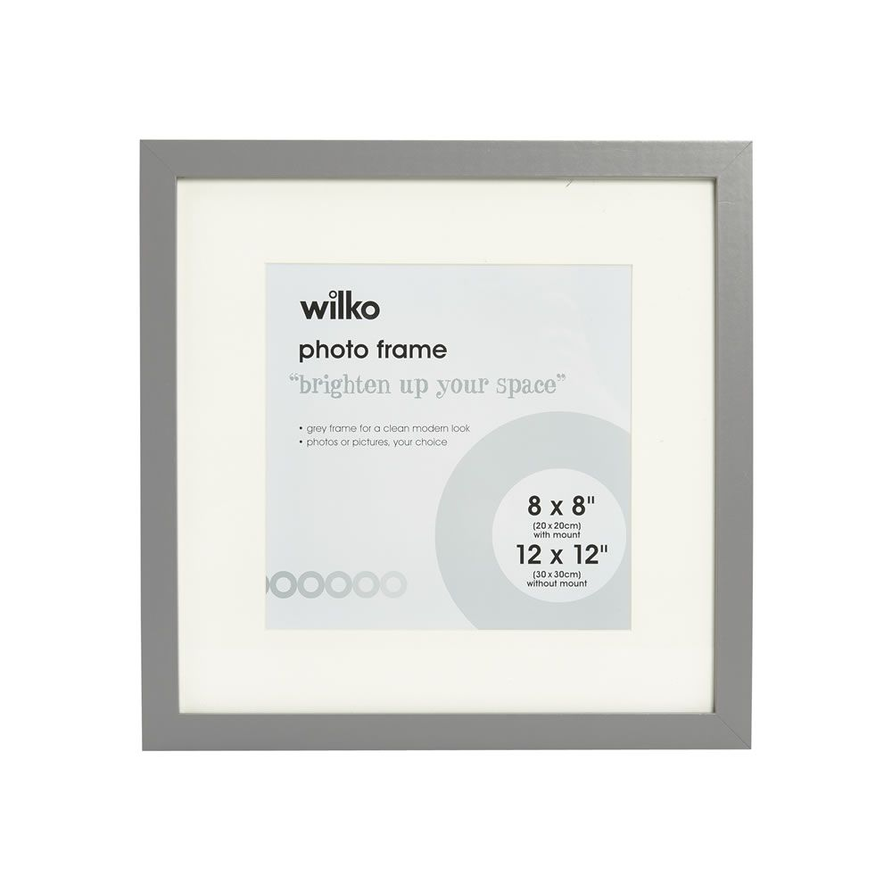 Grey Photo Frame 12 X 12 Inch Photo Frame Frame Picture Wall