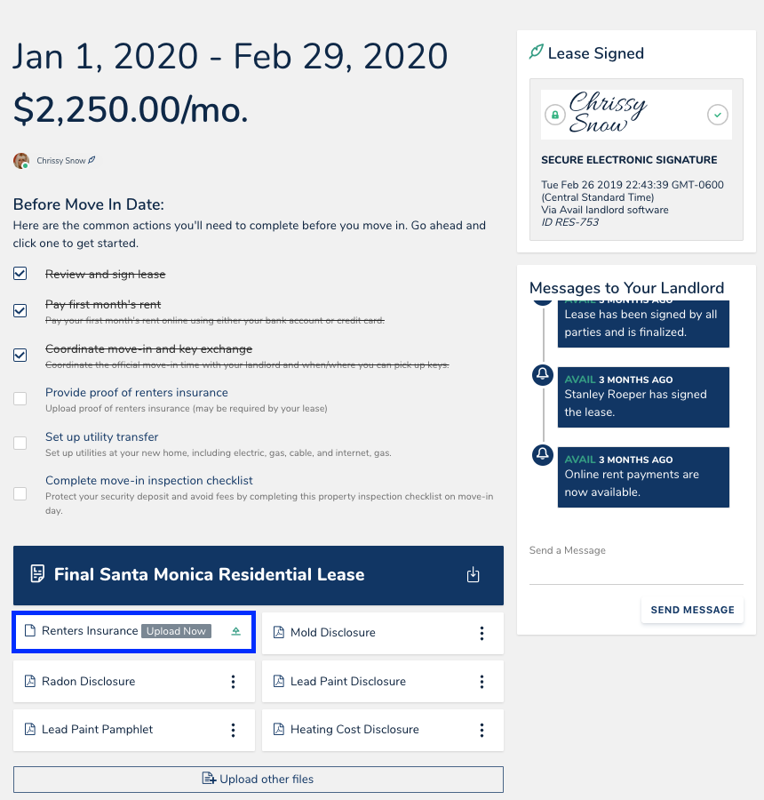 How Do I Upload Renters Insurance Proof In 2020 Renters
