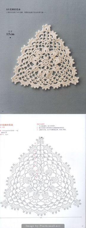 Triangular Motif Japanese Crochet Book Httpimgboxg