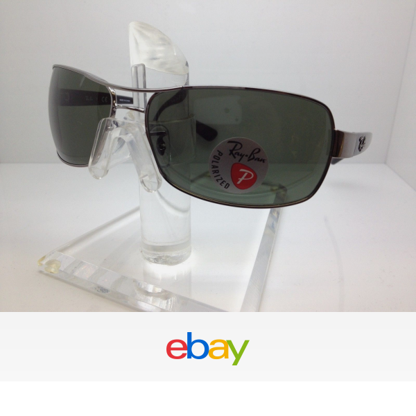 AUTHENTIC RAYBAN SUNGLASSES RB3379 004 58 64MM RB 3379  MADE IN ITALY  fe0e09ab4d7b
