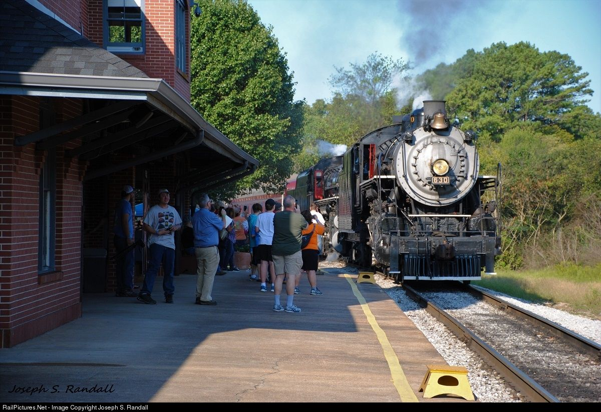 SOU 630 Tennessee Valley Railroad Museum Steam 2-8-0 at ...