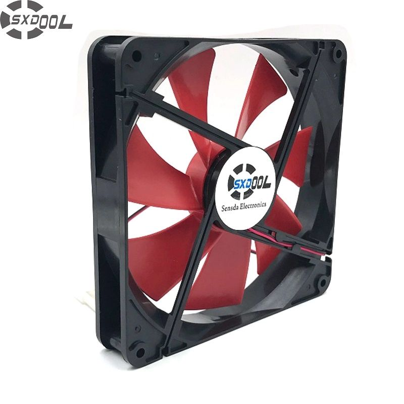 Sxdool High Quality Best Silent Quiet 140mm Pc Case Cooling Fans
