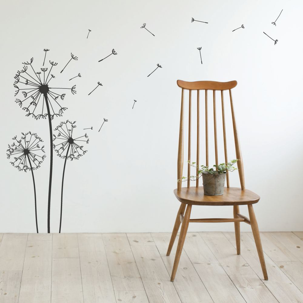 Blowing Dandelion Wall Stickers & Dandelion Wall Stickers | Pinterest | Dandelions Wall sticker and Walls