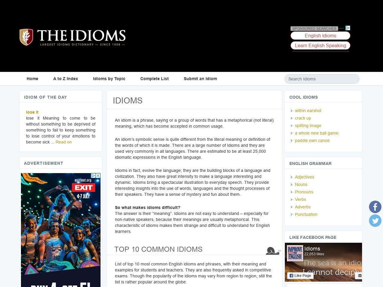 Theidioms