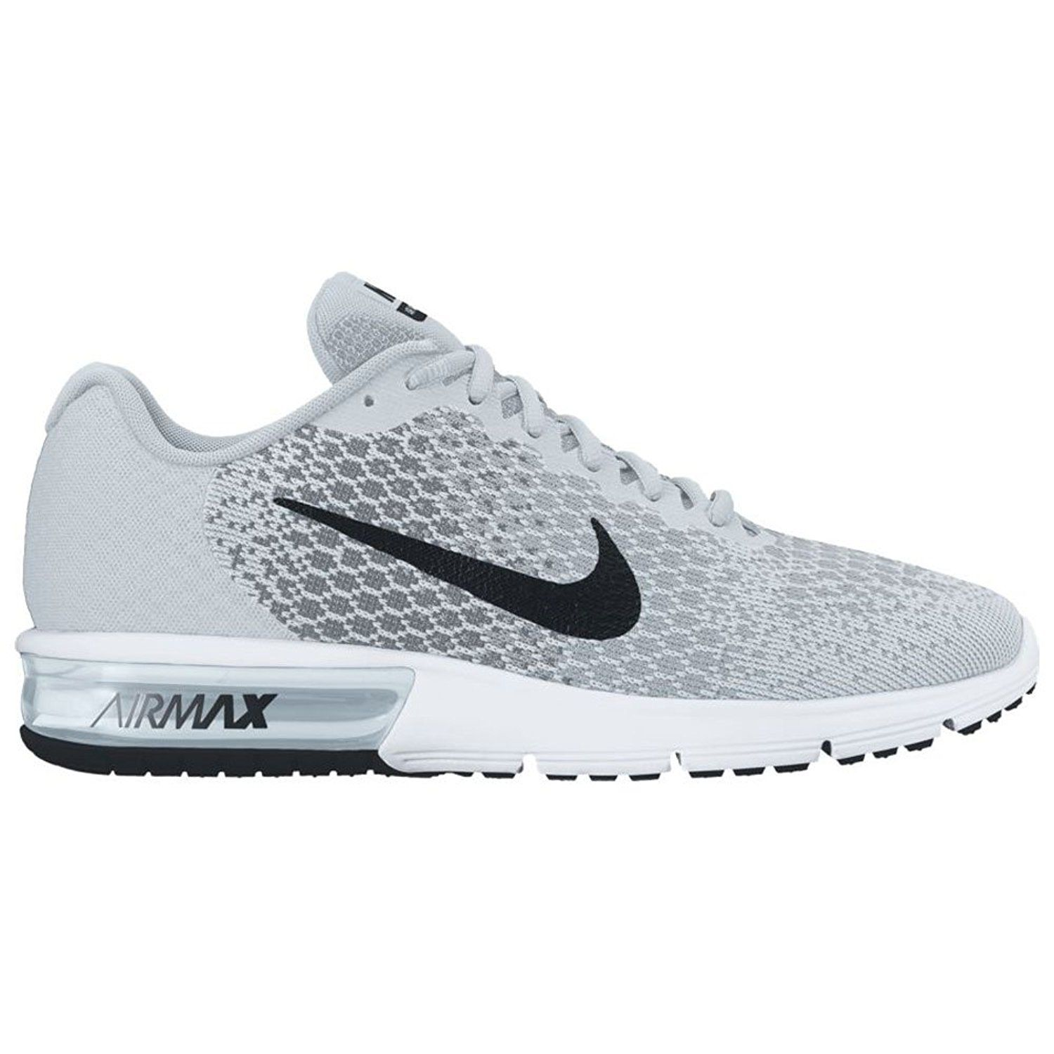 amazon com nike women s air max sequent 2 running shoe pure