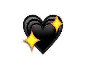 Black Heart And Emoji Image Black Heart Emoji Cute Emoji Wallpaper Emoji Images