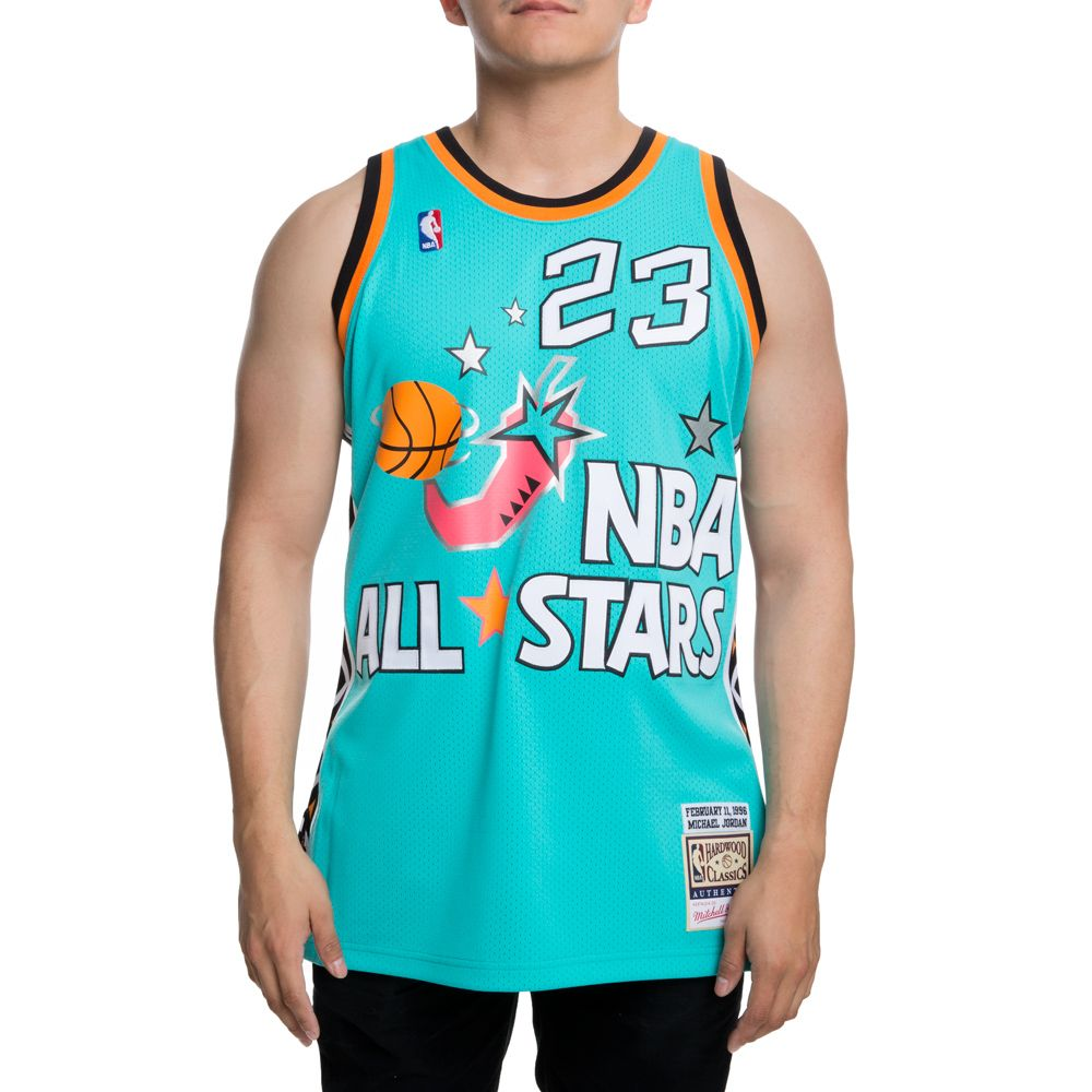 huge discount ce2f5 dcf62 Mitchell And Ness Authentic All-star East 1996 Michael ...