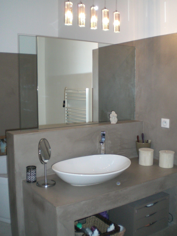 Rénovation Dune Salle De Bain En Résine Depoxy Resinhom - Renovation salle de bain nice