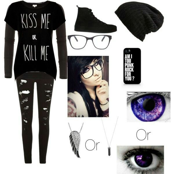 my emo school outfits polyvore outfit ideas pinterest school
