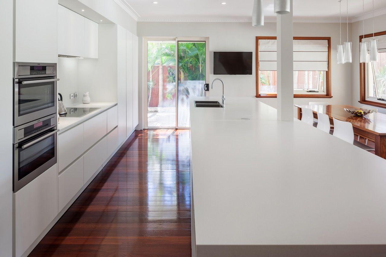 Inspiration Cuisine En U caesarstone gallery | kitchen & bathroom design ideas
