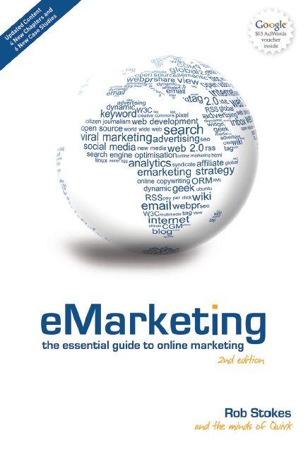 Ebook E Marketing The Essential Guide To Online Marketing Por Rob Stokes Link Para Download Https Www Dropbox Com S 5lx4 Livros Gratuitos Livros Free