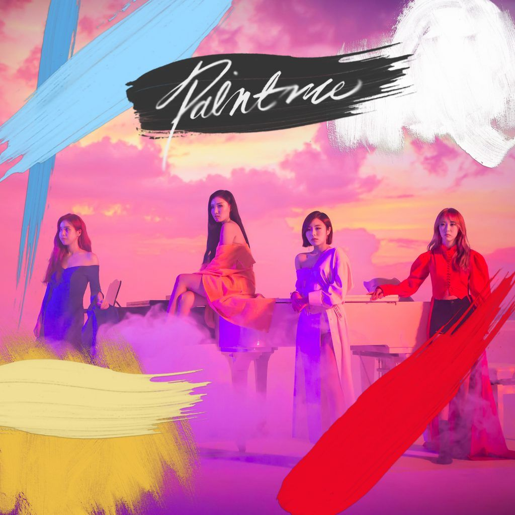 MAMAMOO - 'Paint Me' Album Cover | ~~ Kpop Albums ~~ in 2019