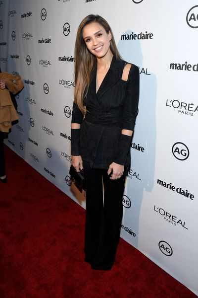 Actress Jessica Alba attends Marie Claire's Image Maker Awards 2017.