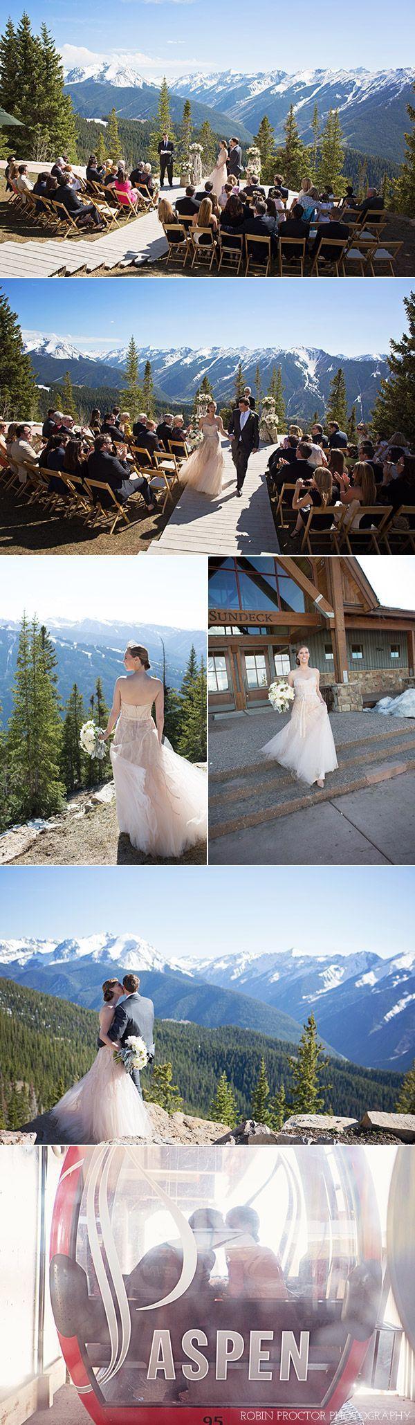 The little nell an intimate wedding in aspen ski themed weddings