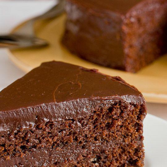Delicious chocolate cake icing recipe