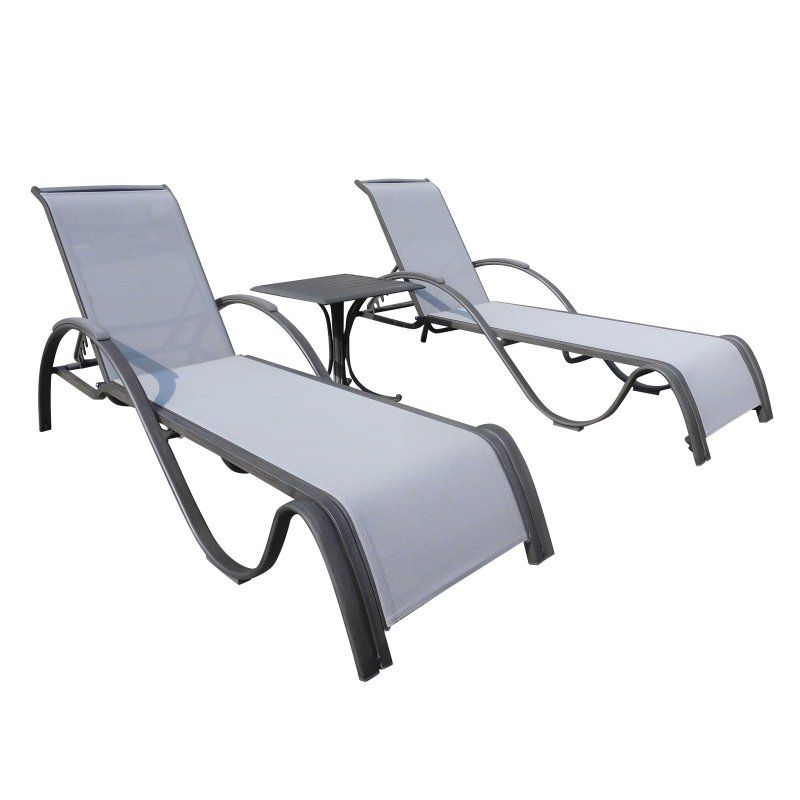 Patio Furniture Near Newport Beach: Outdoor Panama Jack Newport Beach 3 Piece Patio Sling