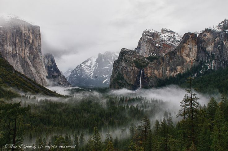"""39 #Winter in #Yosemite NP #Landscapes #Photography by Jay Seeley: http://bit.ly/15TeclT"""""""