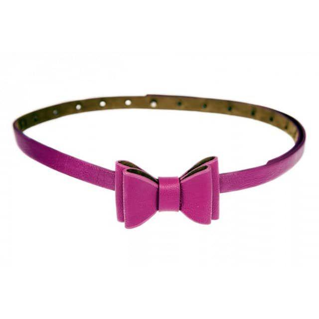 Bow Belt Purple - Tatyana Boutique