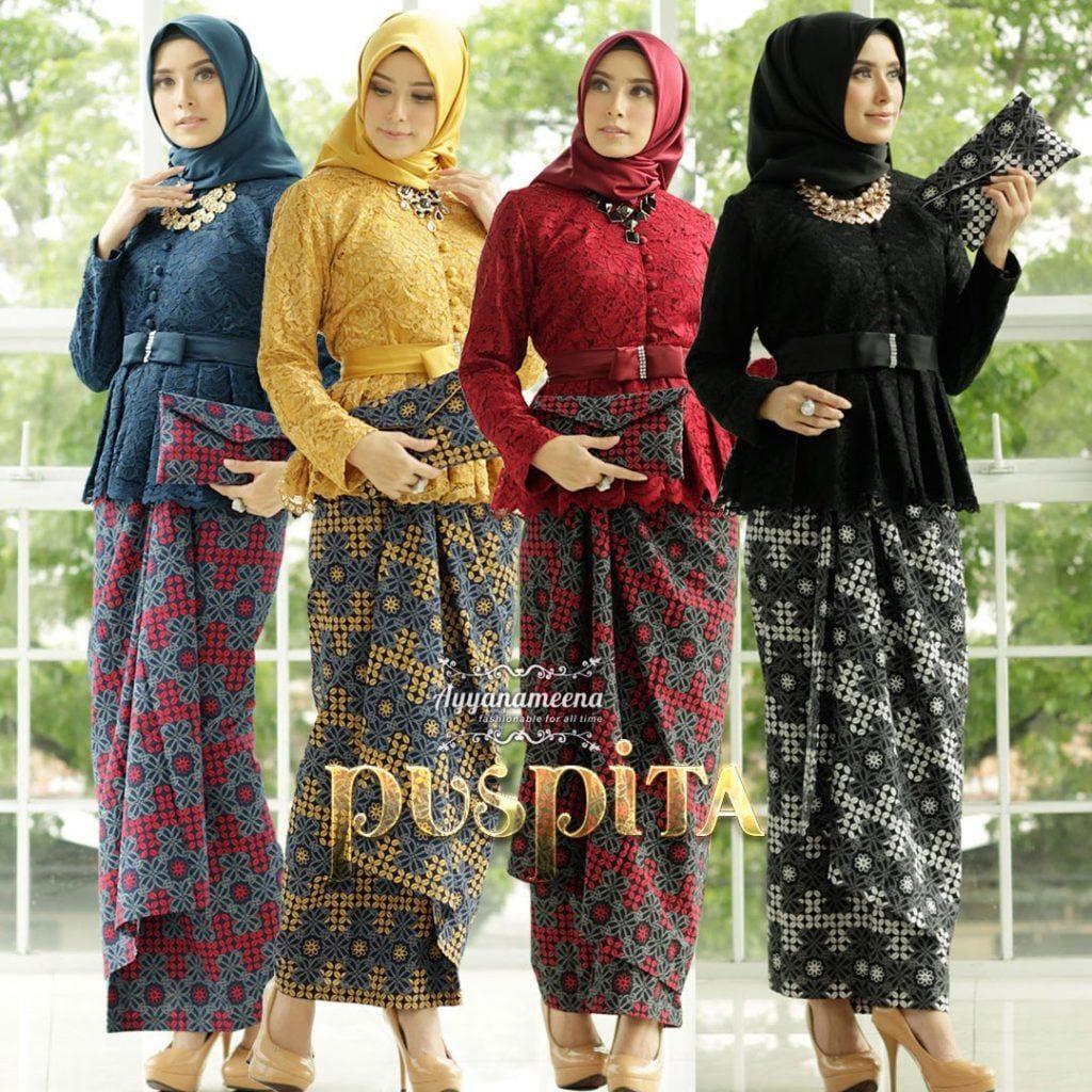 Model Baju Kebaya Rok Batik 12 di 12  Model pakaian, Model