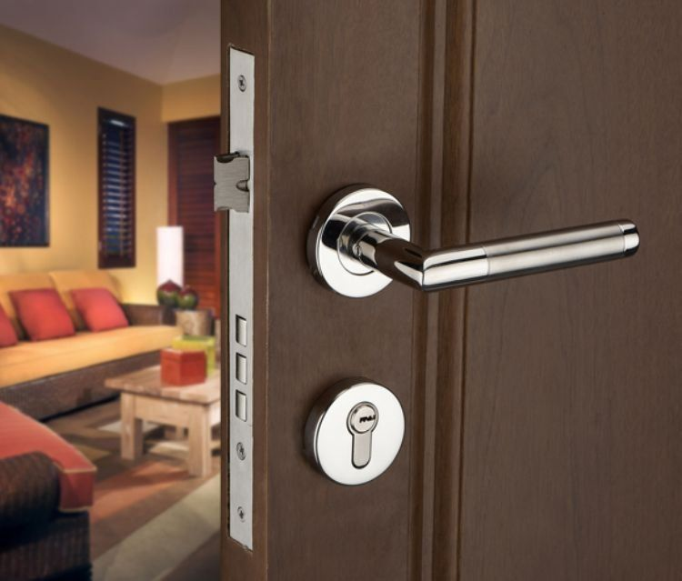 Door Handles With Locks $20.50 - aliexpress : buy wholesale!!! stainless steel lever