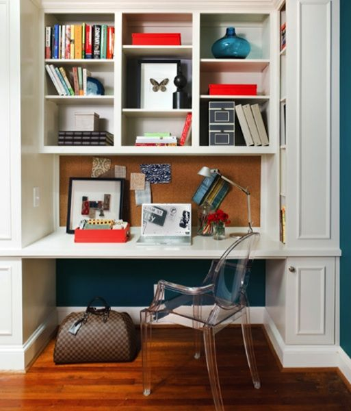 Small Home Office Space Ideas Http://bit.ly/1gtRlfb