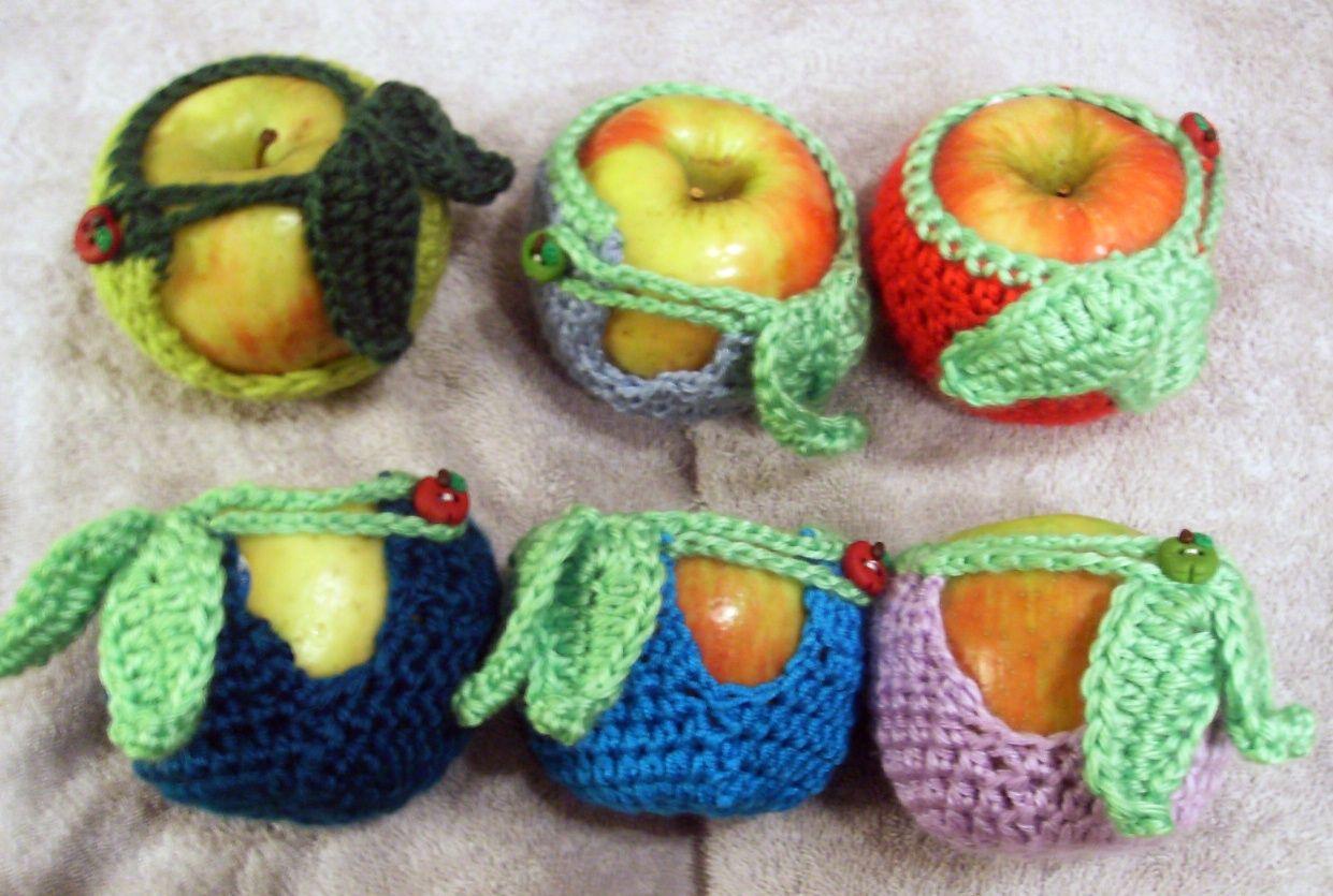 Crochet apple cozy teacher gift this year crochet