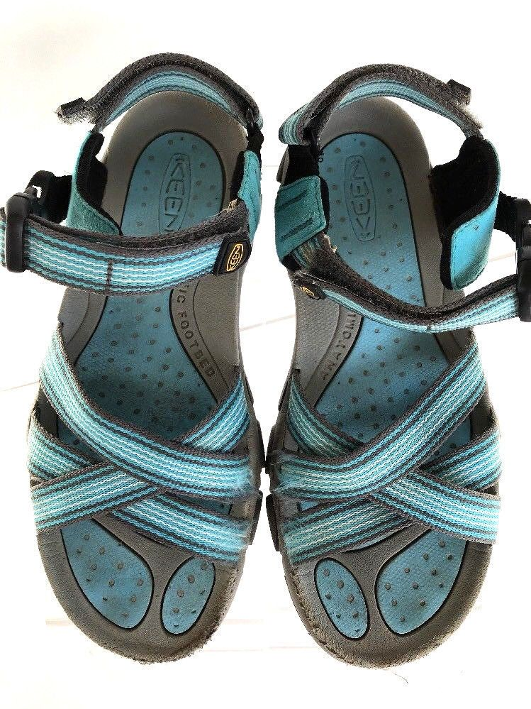8741ca9b5c917 Blue Keen Womens US 8 EU 38.5 Sport Strappy Sandals Ankle Strap Open Toe |  Clothing, Shoes & Accessories, Women's Shoes, Sandals | eBay!
