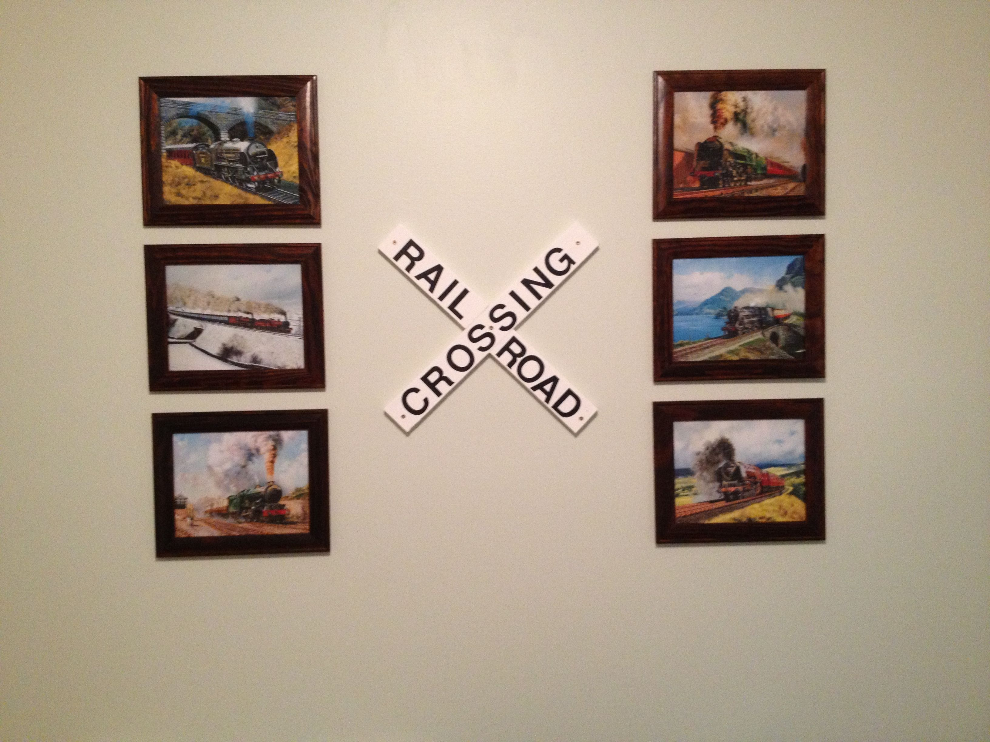 Great for a wall in a train themed bedroom i found various train great for a wall in a train themed bedroom i found various train pictures online jeuxipadfo Choice Image